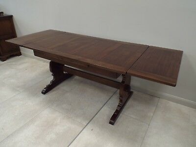 Immaculate Ercol Solid Elm Extending Dining Table • 395£