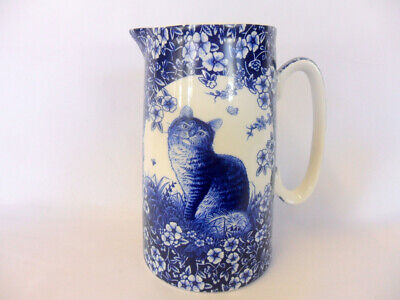 £12 • Buy Victorian Blue Cat Large Jug By The Abbeydale Collection