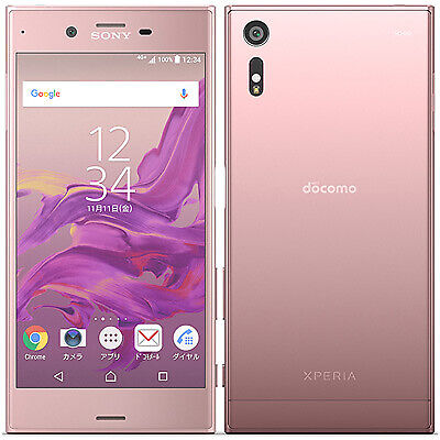$ CDN446.66 • Buy Used Docomo Xperia XZ SO-01J Deep Pink Android Smartphone Unlocked JAPAN F/S