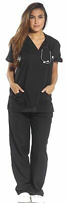 $24.99 • Buy Just Love Women's Scrub Sets Six Pocket Medical Scrubs (V-Neck With Cargo Pant)