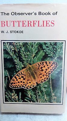 £12 • Buy Observers Book Of Butterflies W J Stokoe Lepidoptera Entomology Insects