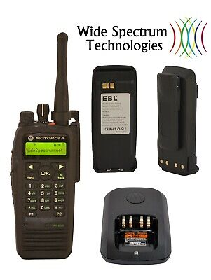 $195 • Buy Motorola XPR6550 UHF 450-512 MHz H55TDH9LA1AN MotoTRBO KIT TESTED-TUNED