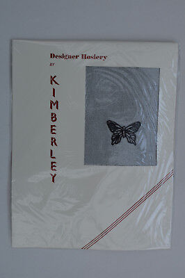 £3.50 • Buy KIMBERLEY Designer Hosiery Superfine Tights With Butterfly Motif One Size