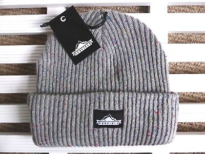 PENFIELD USA Chunky Grey Beanie Hat - Super Comfy & Warm - One Size - Toque NEW • 29.50£