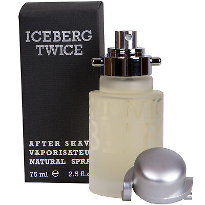 Iceberg Twice After Shave For Man 75 ML Natural Spray • 20.43£