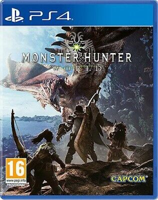AU44.99 • Buy PS4 / Sony Playstation 4 Game - Monster Hunter: World UK NEW & BOXED