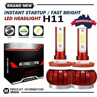 AU18.88 • Buy H8 H9 H11 Led Headlight For Holden Ve Commodore Ssv Ss Sv6 Hsv High Beam Serie