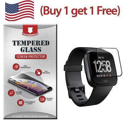 $ CDN4.36 • Buy Premium HD Tempered Glass Film Screen Protector For Fitbit Versa