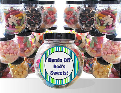 £9.99 • Buy Father's Day Present - Personalised Gift Jar Of Pick And Mix Sweets
