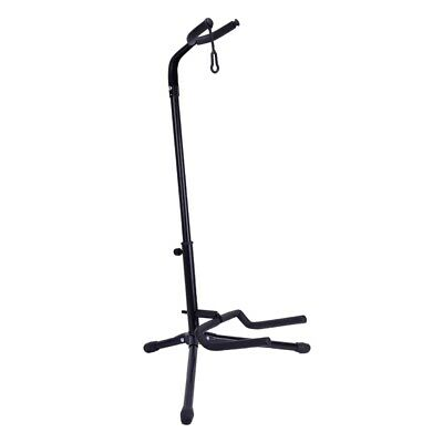 $ CDN52.99 • Buy 1pc Black Folding Electric Acoustic Bass Guitar Stand Floor Holder Support