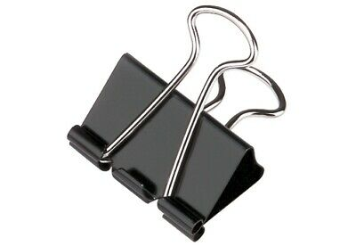 Pack Of 24 Bulldog Clips - 12 Cards 2x Per Card - 50mm.  • 7.99£