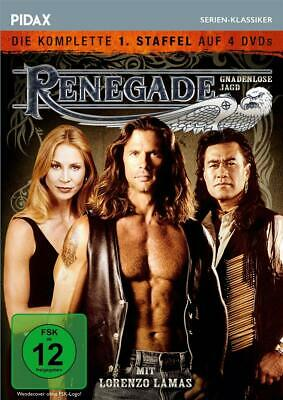 Renegade - Lorenzo Lamas -TV Series Complete Season 1 6x DVD Region 2 PAL • 35.99£