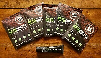$24.99 • Buy It Works! Keto Coffee 5 Day Supply Carb Management & Defining Gel 15 Ml