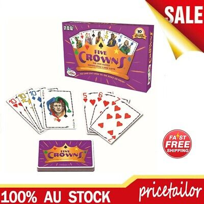AU15.89 • Buy OZ Five Crowns Card Game 5 Suites Classic Original Family Party Rummy Style Play