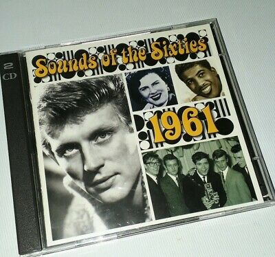 Sounds Of The Sixties - 1961 - Time Life Music - 2cd Set • 19.99£