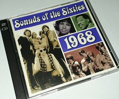 Sounds Of The Sixties - 1968 - Time Life Music - 2cd Set • 14.99£