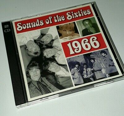 Sounds Of The Sixties - 1966 - Time Life Music - 2cd Set • 19.99£