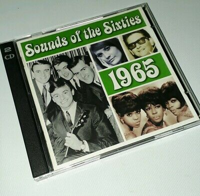 Sounds Of The Sixties - 1965 - Time Life Music - 2cd Set • 14.99£