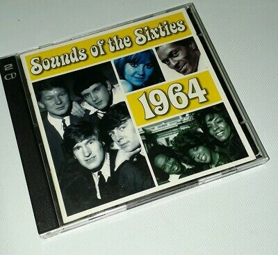 Sounds Of The Sixties - 1964 - Time Life Music - 2cd Set • 14.99£