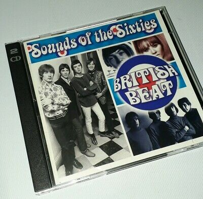 Sounds Of The Sixties - British Beat - Time Life Music - 2cd Set • 19.99£
