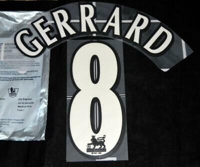 $19.59 • Buy Official Liverpool Gerrard 8 Football Shirt Name/number 1997/07 Sporting ID