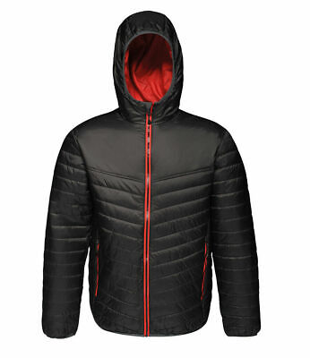 £14.99 • Buy Regatta Womens Acadia Insulated Padded Water Repellent Jacket Blk(ClsRed) 14