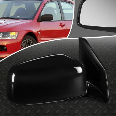$27.88 • Buy For 02-07 Mitsubishi Lancer Oe Style Manual Right Side View Door Mirror Assembly