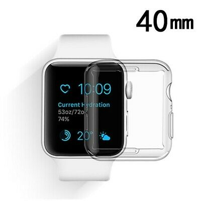$ CDN6.75 • Buy Apple Watch Series 4 40mm Transparent Clear Case Cover