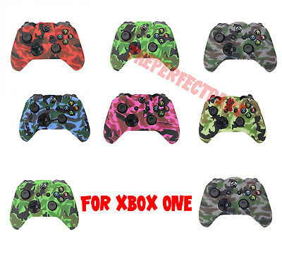 $4.79 • Buy Camo Silicone Rubber Skin Case Gel Cover Grip For Xbox One Wireless Controller