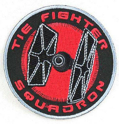 Star Wars Tie Fighter Squadron Iron-on Material Patch • 3.50£