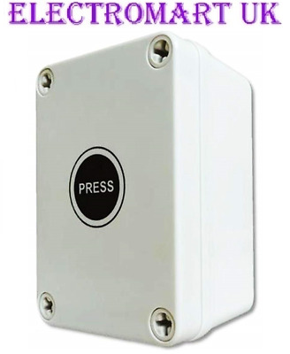 £28.49 • Buy Outdoor Time Delay Lag Push Electronic Light Switch Weatherproof Waterproof 16a