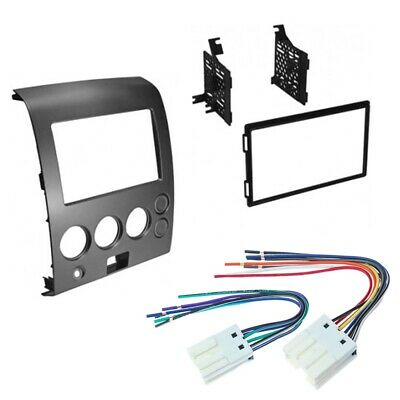 $69.99 • Buy NDK732 Double DIN Install Dash Kit For 2004-06 Nissan Titan/Armada