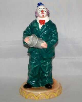 Royal Doulton Will He-Won`t He? Classic Clowns Figurine HN 3275 • 110£