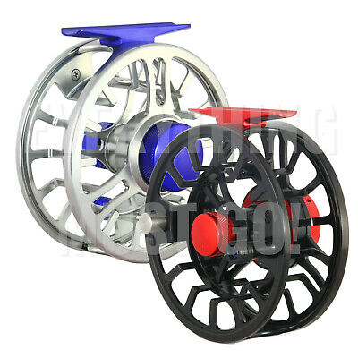 $ CDN84.80 • Buy NVC Large Arbor CNC-Machined Fly Reel, 5/6wt, 7/8 Wt, 2 Colors To Choose From