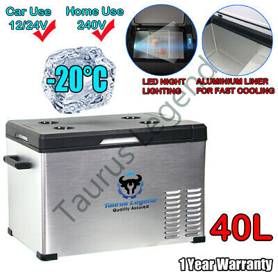 AU385 • Buy 40L Portable Car Fridge 12V/24V/240V Car Caravan Bus Boat Rapid Cooling Freezer