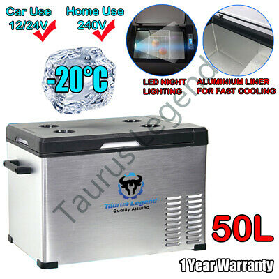 AU400 • Buy 50L Portable Car Fridge 12V/24V/240V Car Caravan Bus Boat Rapid Cooling Freezer