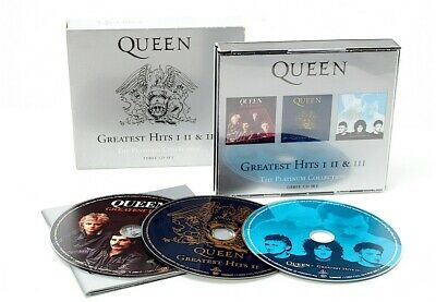 £17 • Buy Queens Greatest Hits 1 2 & 3 Platinum Collection Cd