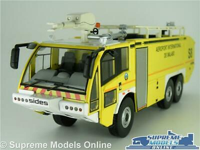 $89.23 • Buy Man 6x6 Sentinel S3x Fire Engine Model Truck Lorry 1:43 Scale Ixo Airport K8