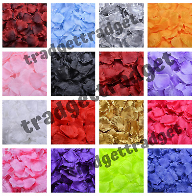Artificial Silk Rose Petals Engagement Wedding Table Decorations Confetti Party • 1.99£
