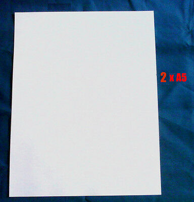 £1.90 • Buy Decal Clear Waterslide Laser Paper 2 X A5 Sheets (95p Per Sheet)