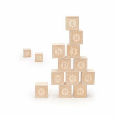 $17.89 • Buy Uncle Goose Lowercase Alphablank Blocks - Made In USA