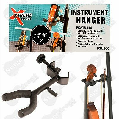 AU18 • Buy Ukulele Violin Mandolin Stand Hanger With Accessory Hook  - Brand New