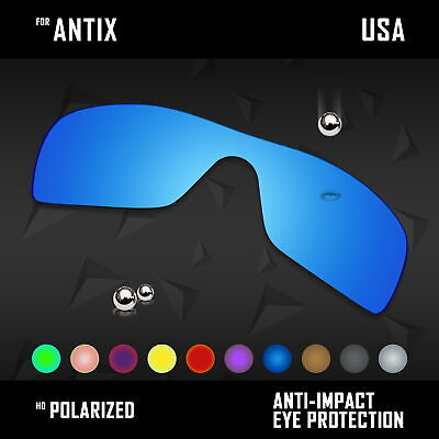 5b1e672c4412 Anti Scratch Polarized Replacement Lenses For-Oakley Antix OO9077 Options •  20.99$