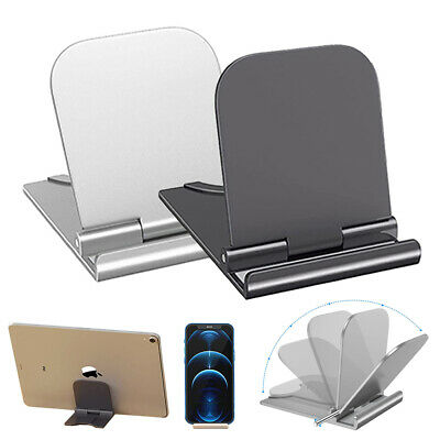 $4.46 • Buy Universal Foldable Cell Phone Desk Stand Holder Mount Cradle For Phone Tablet