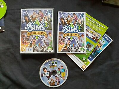 THE SIMS 3 AMBITIONS PC Game • 4.29£