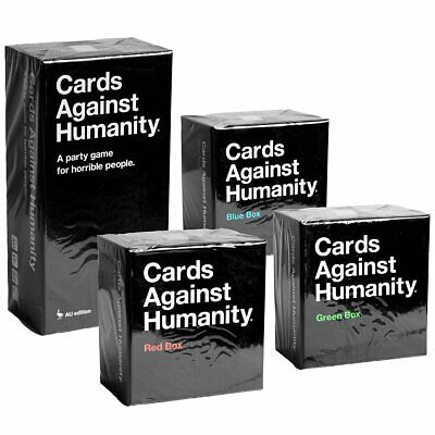 AU137.38 • Buy Cards Against Humanity 2.0 AU Main Set + Blue, Red, Green Expansion Boxes