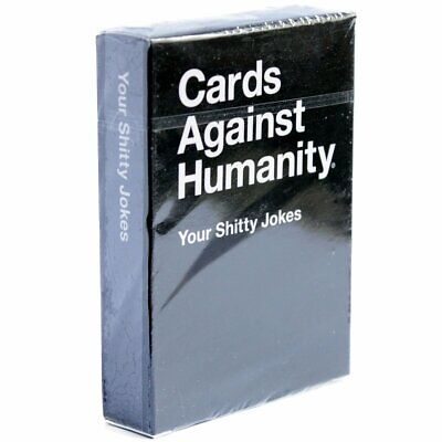AU12.61 • Buy Cards Against Humanity - Your Shitty Jokes Expansion Card Game