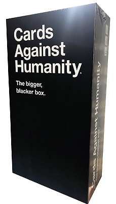 AU47.35 • Buy Cards Against Humanity The New Bigger Blacker Box Bigger And Wider Card Storage