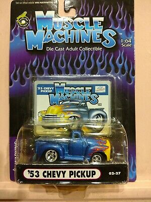 AU12.70 • Buy Muscle Machines 53 Chevy Pickup 1:64 Scale