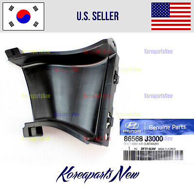 $19.02 • Buy Front Bumper Air Duct Right PASSENGER ⭐86568J3000⭐for Hyundai Veloster 2019-2020